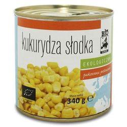 Kukurydza słodka konserwowa BIO 340g (285g) - BIO EUROPA - produkt z kategorii- Przetwory warzywne i owocowe