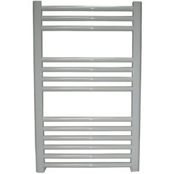 Grzejnik łazienkowy wetherby wykończenie proste, 600x800, biały/ral - marki Thomson heating