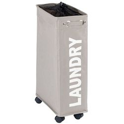 Kosz na pranie CORNO, pojemnik 43 l - kolor taupe, WENKO, B01FFFH6RE