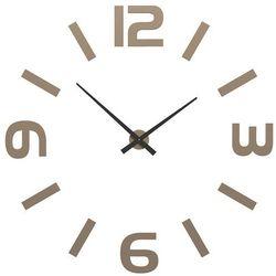 Zegar ścienny Donatello CalleaDesign caffelatte, kolor brązowy