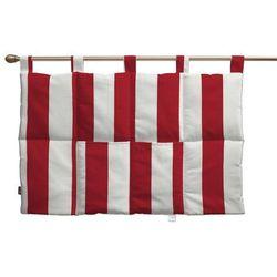 Dekoria  wezgłowie na szelkach, pasy czerwono-białe, 90 x 67 cm, comics