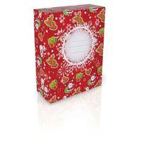 Opakowanie świąteczne Topgal XMSBOX2013 G - Red, kolor czerwony