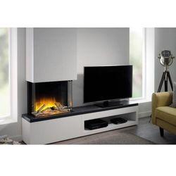 Flamerite fires - nowość 2021 Kominek wolnostojący flamerite fires tropo 600 cb link z szafką pod tv - zestaw. efekt płomienia led radia flame - promocja