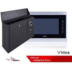 Skrzynka na listy z wideodomofonem monitor 7'' marki Vidos