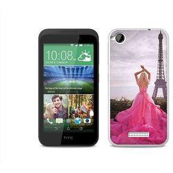 Foto Case - HTC Desire 320 - etui na telefon Foto Case - różowa sukienka (Futerał telefoniczny)