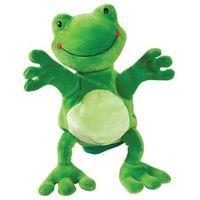 Pacynka do zabaw w teatrzyk - żaba marki Beleduc