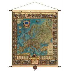Europa mapa ścienna 97 x 121 cm Pergamena - produkt dostępny w ArtTravel.pl