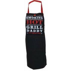 Fartuch kuchenny Grill Daddy czarny, 60 x 84 cm