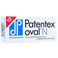 PATENTEX OVAL N 75 mg 12 globulek dopochwowych