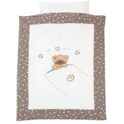 ALVI Komplet pościeli little bear kolor beżowy 80 x80 - produkt z kategorii- Komplety pościeli dla dzieci