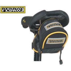 Pdr-6357100 torba podsiodłowa pedros small hatchback, czarna wyprodukowany przez Pedro's