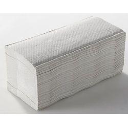 Ręczniki składane, frottee, bardzo biały, opak.: 2880 ręczników. Higieniczne i w