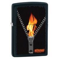 Zapalniczka ZIPPO Zipper 2, Black Matte (Z28309)