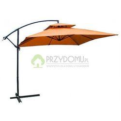 Parasol ogrodowy - kwadrat 2,5x2,5m pomarańczowy - sprawdź w wybranym sklepie