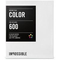 Wkłady do aparatu IMPOSSIBLE do Polaroid serii 600 (8 sztuk) Kolorowy