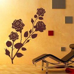 Wally - piękno dekoracji Szablon malarski kwiaty róża 1100