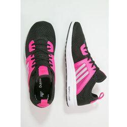 adidas Performance DURAMA Obuwie do biegania treningowe core black/white/shock pink od Zalando.pl
