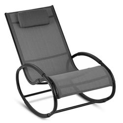Blumfeldt retiro fotel bujany aluminium poliester szary (4260457489346)