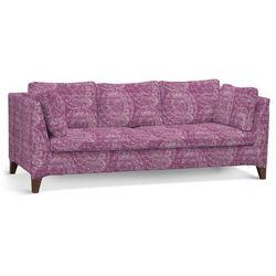 pokrowiec na sofę stockholm 3-osobową, ciemny pudrowy róż, sofa stockholm 3-osobowa, mirella marki Dekoria