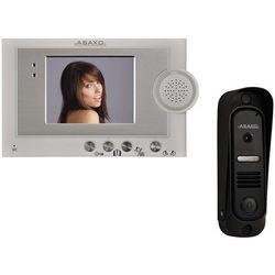"""Wideodomofon 4"""" głośnomówiący z kamerą Pin-hole Abaxo MC-420C"""
