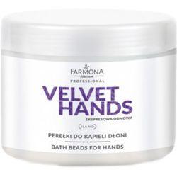 Farmona VELVET HANDS Perełki do kąpieli dłoni - produkt z kategorii- Pozostałe kosmetyki do dłoni i stóp