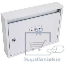Skrzynka pocztowa 325x240x60mm szara prefabrykatów bez otworów (8595627406332)