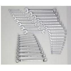 Zestaw narzędzi KEY,klucz szczękowy i oczkowy, 36-częściowy, luzem (bez wkładki)