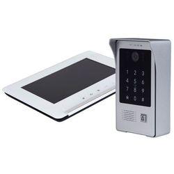 Zestaw wideodomofonu stacja bramowa z czytnikiem i szyfratorem monitor 7'' s20da_m690ws2 marki Vidos