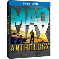 Mad MAx. Antologia + karty kolecjonerskie (5DVD)