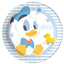 Talerzyki urodzinowe Mały Mickey - 20 cm - 8 szt.
