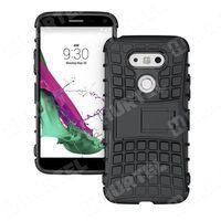 Pancerne etui Kickstand LG G5 H850 czarne - Czarny - produkt z kategorii- Futerały i pokrowce do telefonów