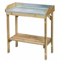 Drewniany stolik ogrodniczy - Pratt, vidaxl_403676