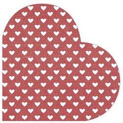 Serwetka Hearts RED SDH089800 (5906360742985)