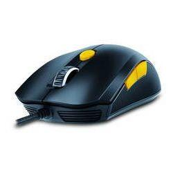 Genius Mysz  gx gaming scorpion m6-600 (31040063102) czarna/żółta