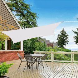 Żagiel przeciwsłoneczny prostokątny 4x3m popielaty marki Springos