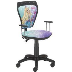 Obrotowe krzesło dziecięce MINISTYLE - Barbie 4, Nowy Styl