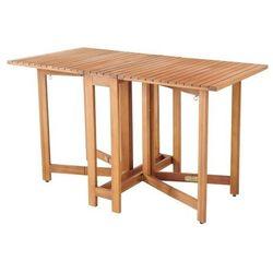 Stół składany konsola virginia 132 x 65 x 75 cm marki Goodhome