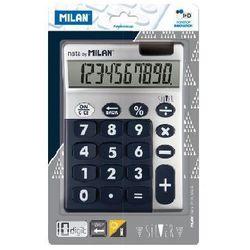 Kalkulator z dużymi klawiszami Milan Silver - Niebieski (159906SLBBL), WIKR-0997385