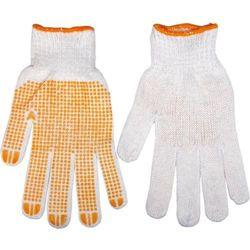Rękawice robocze TOPEX 83S202 Biało-pomarańczowy (Rozmiar 10) (5902062230027)