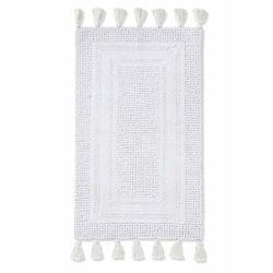 Dywaniki łazienkowe tuftowane z frędzlami kremowy marki Bonprix
