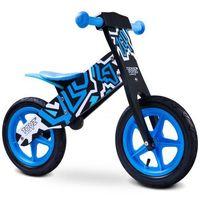 Caretero Rowerek biegowy toyz zap niebiesko-czarny, kategoria: rowerki biegowe