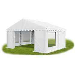 Namiot 4x4x2, solidny namiot ogrodowy, summer/pe 16m2 - 4m x 4m x 2m marki Das company
