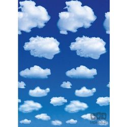 Wizard + genius Fototapeta white clouds 402