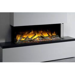 Flamerite fires - nowość 2021 Kaseta do montażu ściennego lub zabudowy flamerite fires glazer 1000-1/2/3 szyby. efekt płomienia radia flame led-promocja