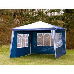 PAWILON OGRODOWY 3x3 4 ŚCIANY NAMIOT HANDLOWY - Niebieski (namiot ogrodowy)