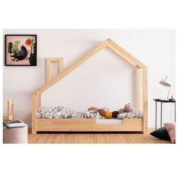 Drewniane łóżko dziecięce domek Lumo 4X - 23 rozmiary, LunaC