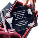 Pamiątka Komunii »chleb i wino« średnia ozdobna • GRAWER 3D