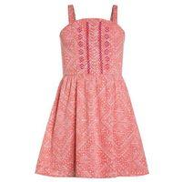Abercrombie & Fitch SHINE Sukienka letnia coral, kolor czerwony