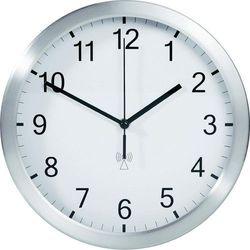 Zegar cyfrowy TFA 98.1091.02 Sterowany radiowo, Biały, (ØxG) 25 cmx4 cm, kolor biały
