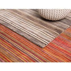 Dywan brązowy bawełniany 80x150 cm NIKSAR (7081451562418)